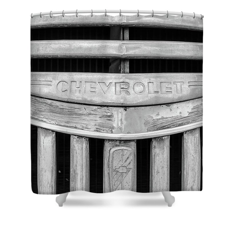 Gaetano Chieffo Shower Curtain featuring the photograph Chevrolet by Gaetano Chieffo