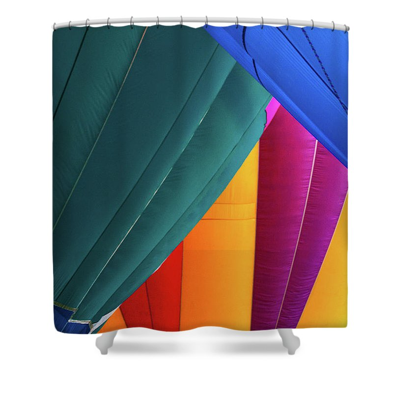 North East Ohio Shower Curtain featuring the photograph Colors by Stewart Helberg