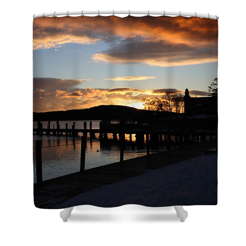 Photography Shower Curtain featuring the photograph Good Morning by Michael Mooney
