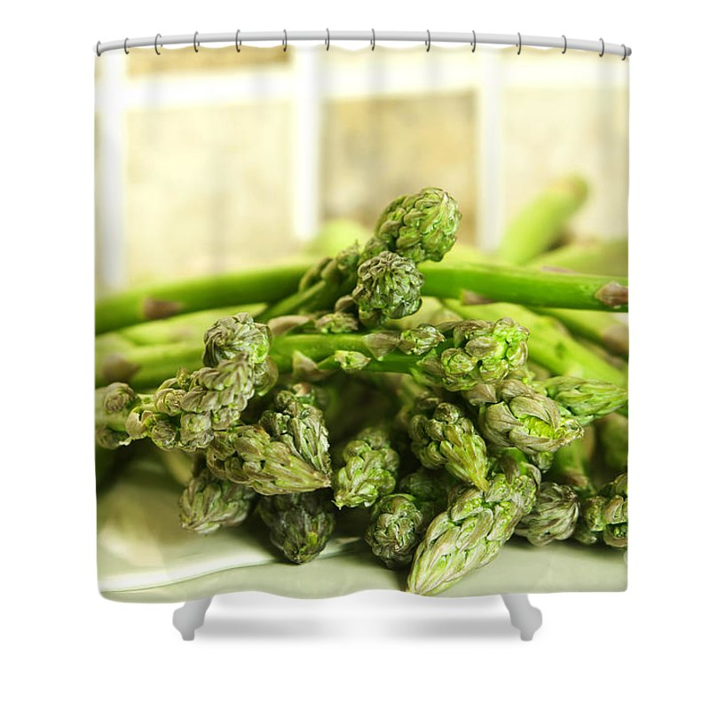 Asparagus Shower Curtains
