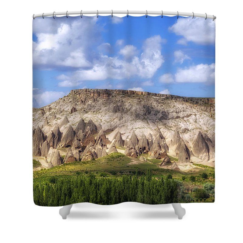 Selime Shower Curtain featuring the photograph Selime - Turkey by Joana Kruse