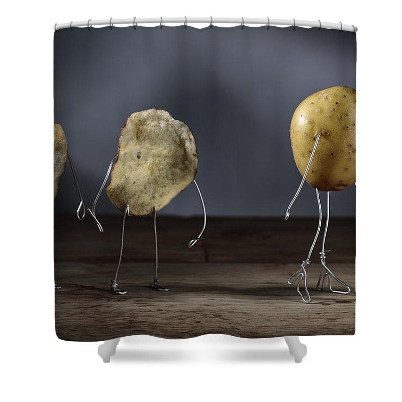 Potato Shower Curtains