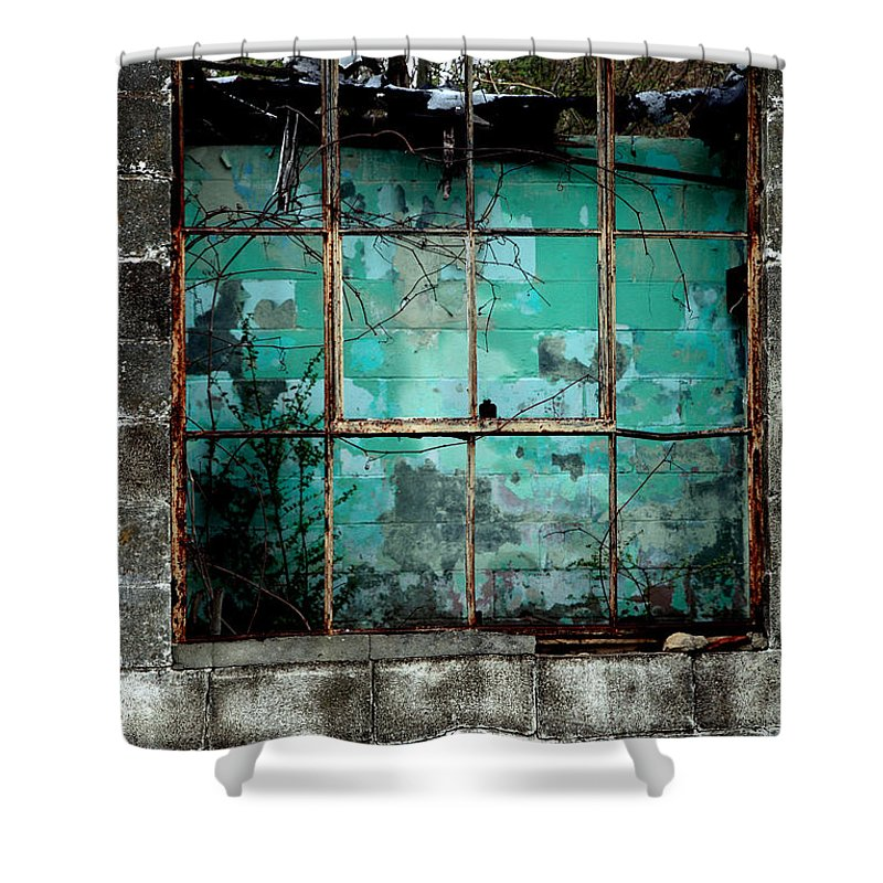 Windows Shower Curtain featuring the photograph Window by Amanda Barcon