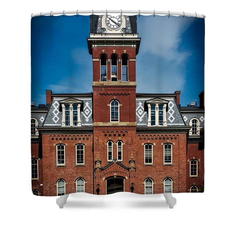 West Virginia University Shower Curtains