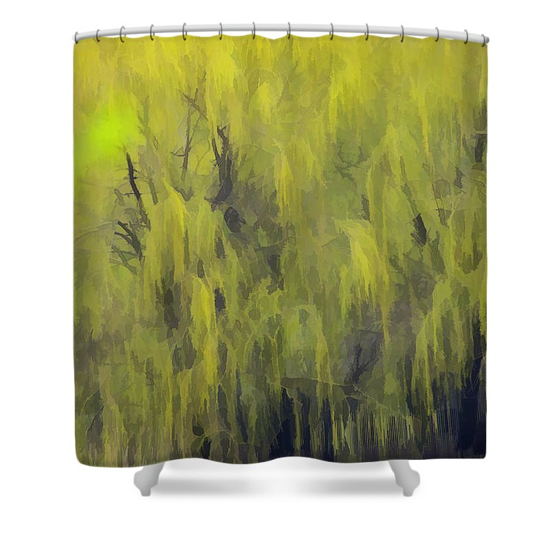 Impressionism Shower Curtain featuring the photograph 331 by Garth Pillsbury