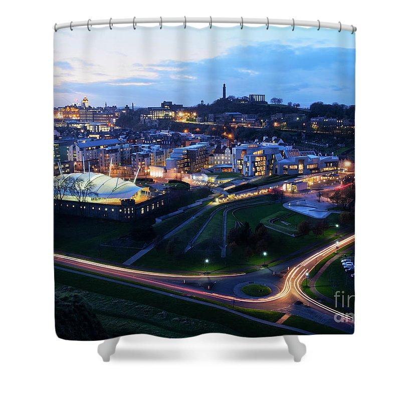 Europe Shower Curtain featuring the photograph Edinburgh, Scotland by Karol Kozlowski