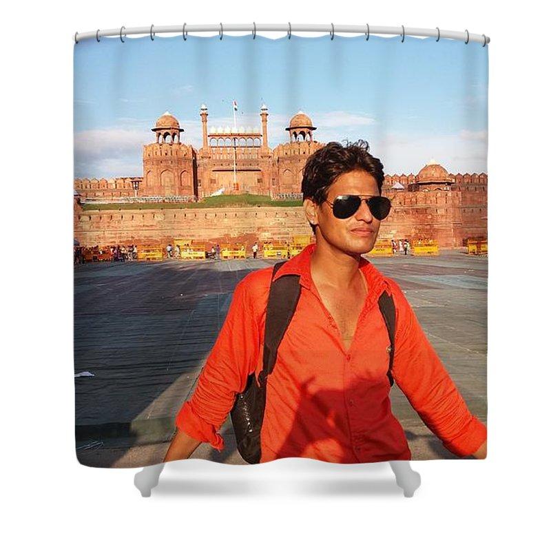 Harpal Singh Jadon Shower Curtain featuring the photograph Harpal Singh Jadon by Harpal Singh Jadon Jadon