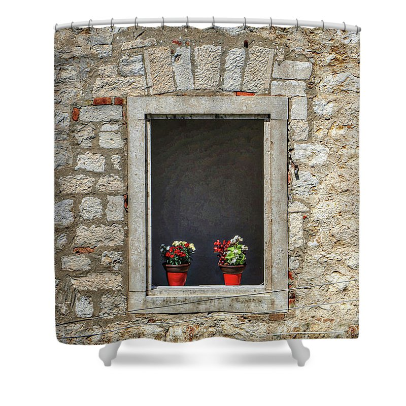Dubrovnik Croatia Shower Curtain featuring the photograph Dubrovnik Croatia by Paul James Bannerman