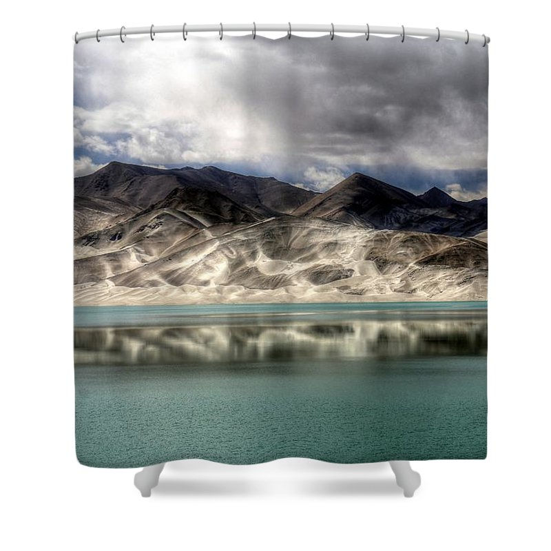 Xinjiang Province China Shower Curtain featuring the photograph Xinjiang Province China by Paul James Bannerman