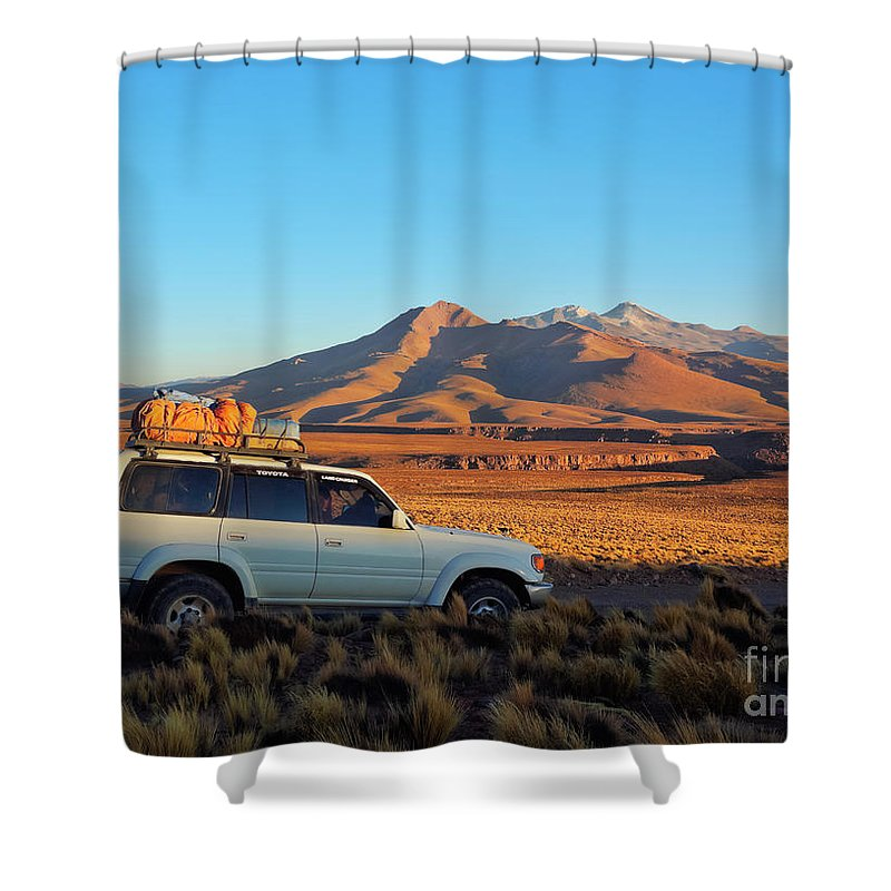 South America Shower Curtain featuring the photograph Bolivia by Karol Kozlowski
