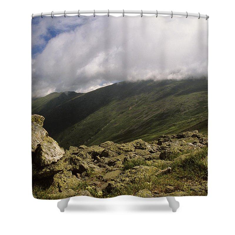 Mount Washington Shower Curtain featuring the photograph Mount Washington New Hampshire Usa by Erin Paul Donovan