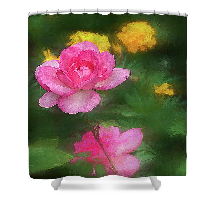 Flowers Shower Curtain featuring the photograph Summer Flowers by Vladimir Kholostykh