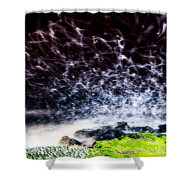 Shower Curtain featuring the photograph The Adobe by Angus Hooper Iii