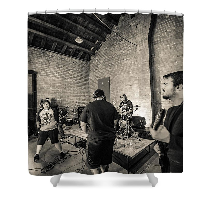 Shower Curtain featuring the photograph 5 by Paul Brooks
