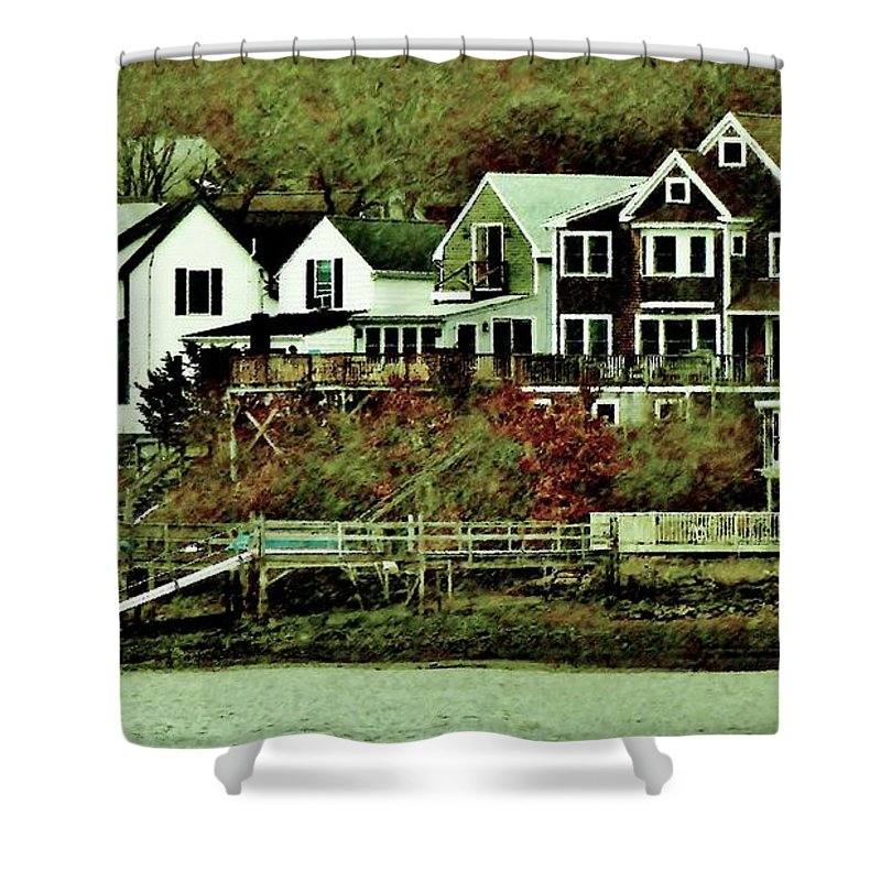 Shower Curtain featuring the photograph South Terrace by Scott Hufford