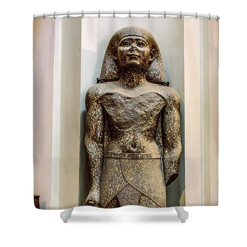 Egyptian Museum Of Antiquities Shower Curtain featuring the photograph The Egyptian Museum Of Antiquities - Cairo Egypt by Jon Berghoff