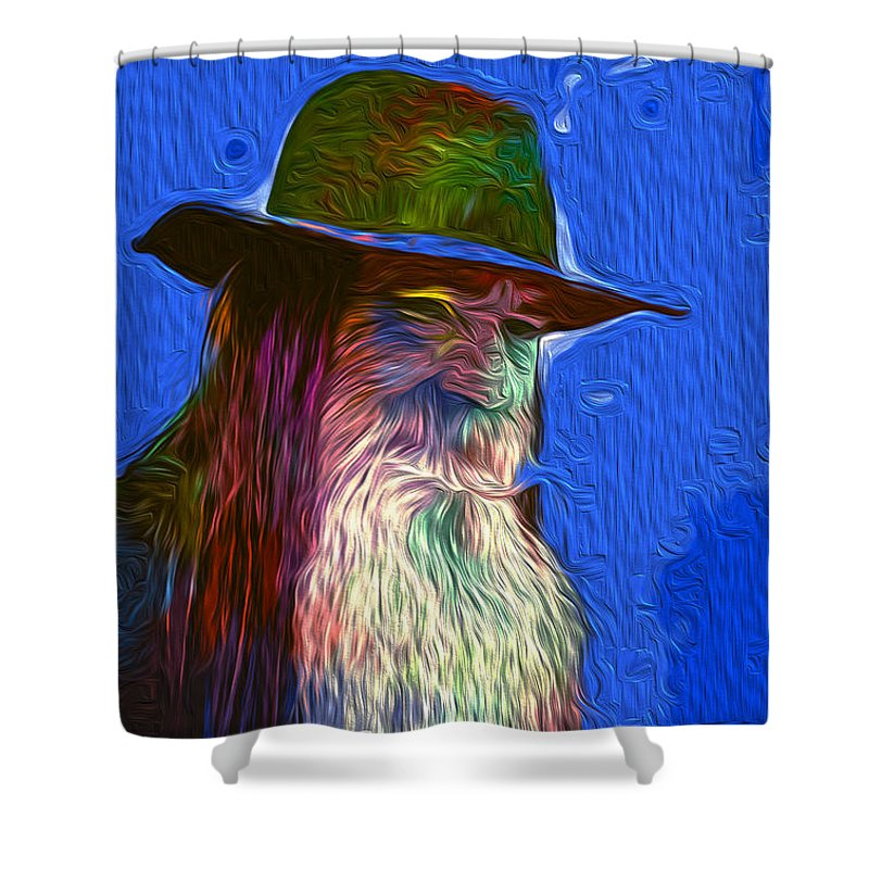 Digital Art Shower Curtain featuring the digital art Untitled by The untalented-talented Artist