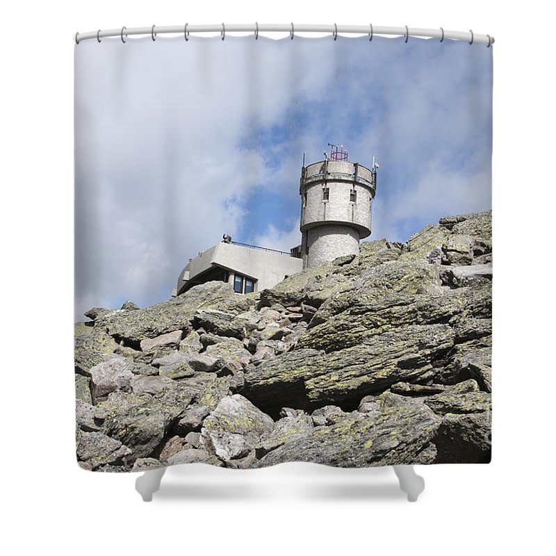 Mount Washington Shower Curtain featuring the photograph Mount Washington - White Mountains New Hampshire Usa by Erin Paul Donovan
