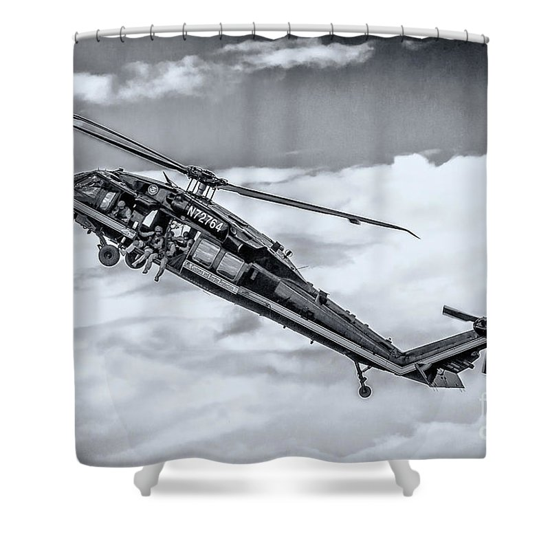 Us Custom And Border Protection Shower Curtain featuring the photograph Us Custom And Border Protection by Rene Triay Photography