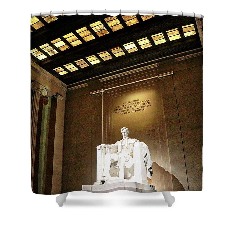 Washington Dc Usa Shower Curtain featuring the photograph Washington Dc Usa by Paul James Bannerman