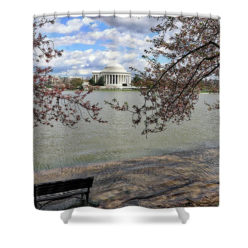 Washington Dc Usa Shower Curtain featuring the photograph Washington Dc Usa by Paul James Bannerman