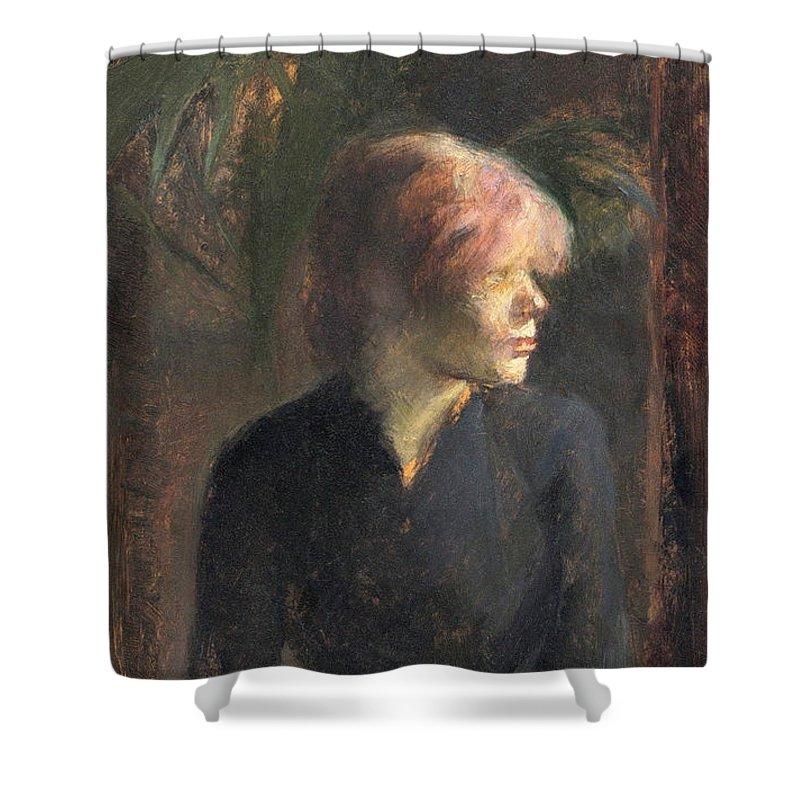 Fashion Shower Curtain featuring the painting Lautrec by Henri De Toulouse