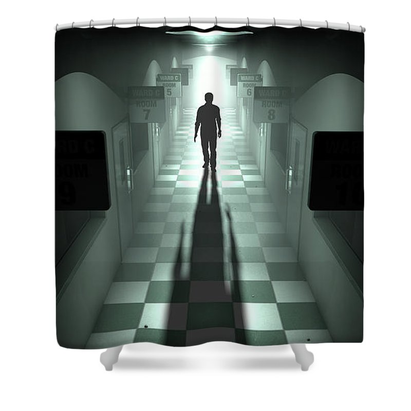 Psychiatric Hospital Shower Curtains