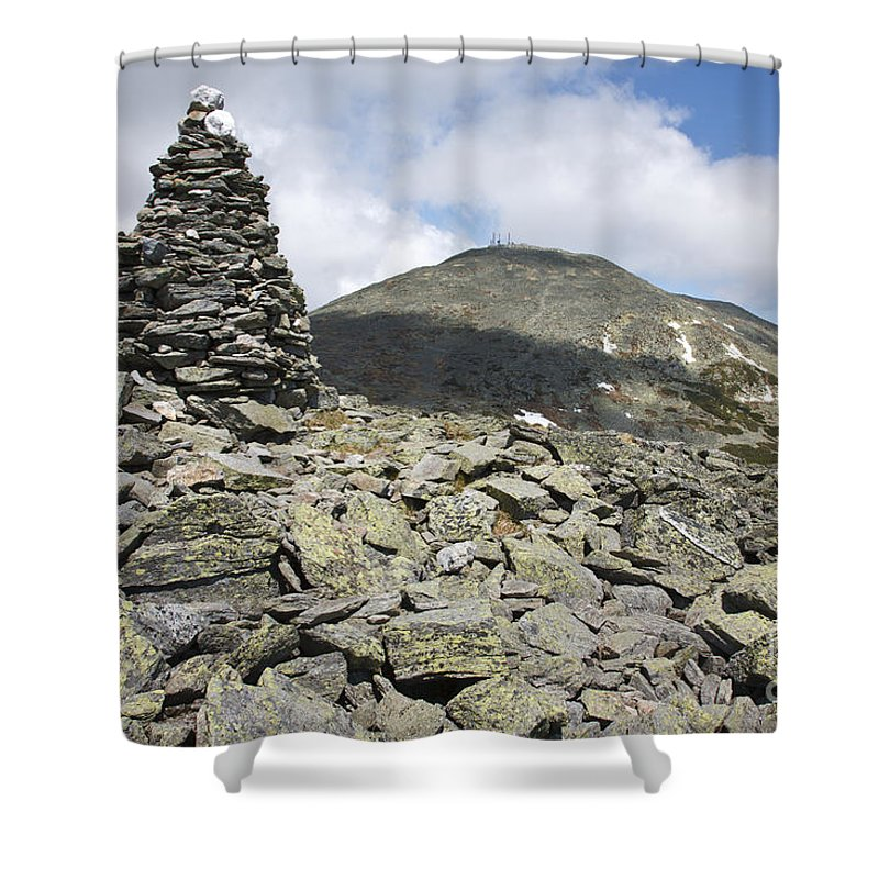 Hike Shower Curtain featuring the photograph Mount Washington - White Mountains New Hampshire Usa by Erin Paul Donovan