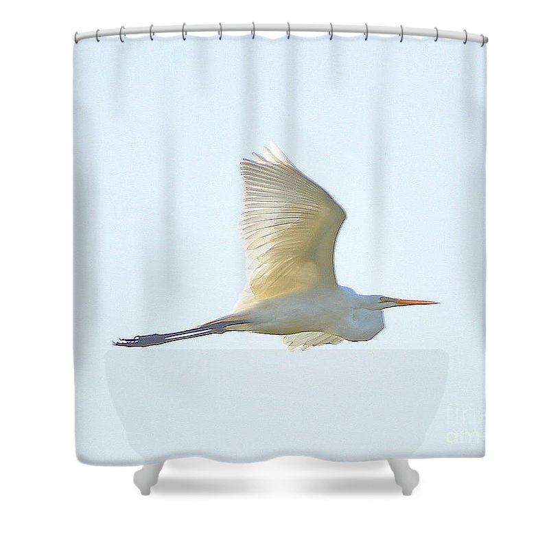 Shower Curtain featuring the photograph 7466 by Don Solari