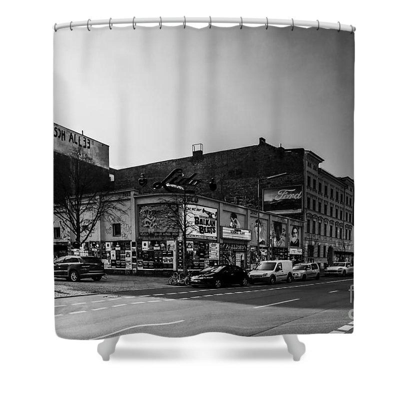 Club Shower Curtain featuring the photograph Berlin by Tino Lehmann