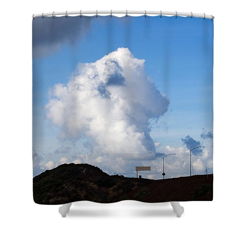 Clay Shower Curtain featuring the photograph Clouds by Clayton Bruster