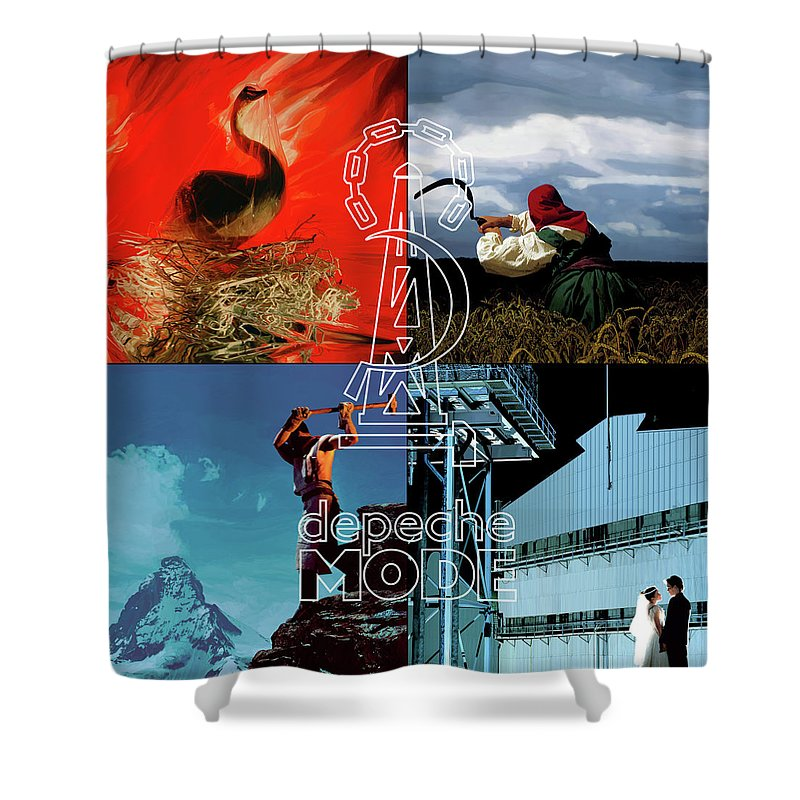 Brian Griffin Shower Curtain Featuring The Digital Art 81 84 Cover By Luc Lambert