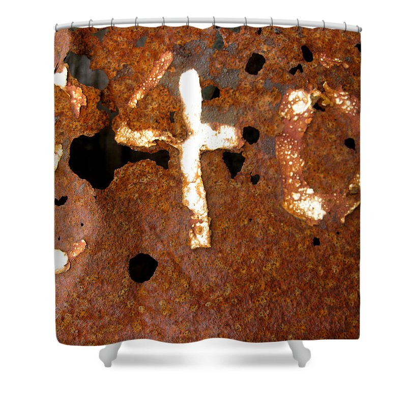 Rust Shower Curtain featuring the photograph 840 by Elaine Booth-Kallweit