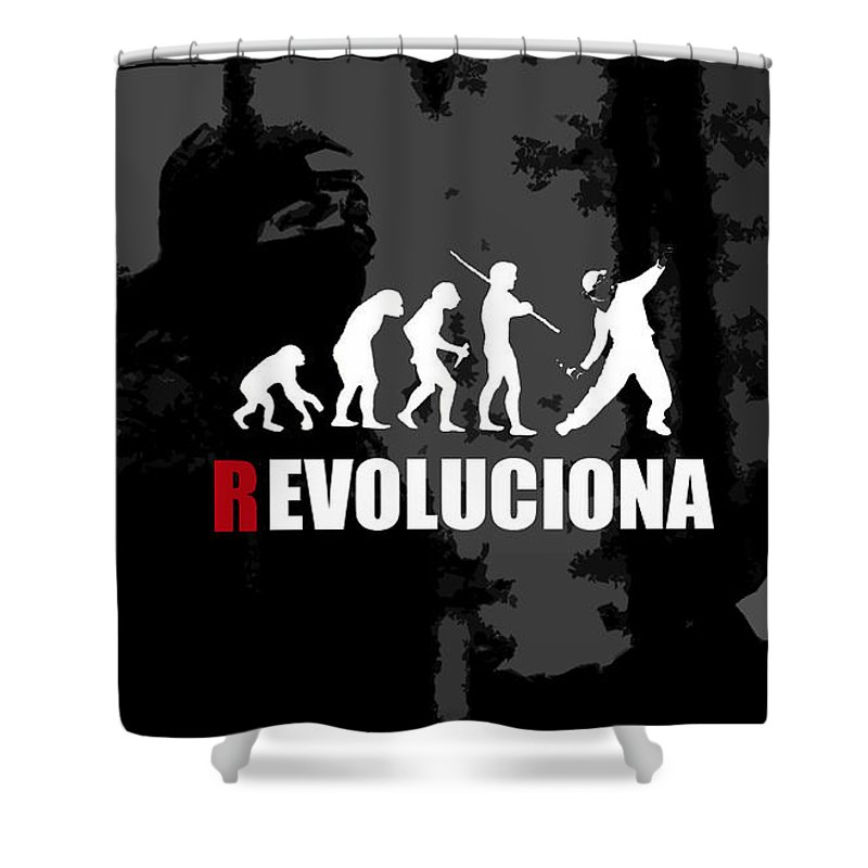 Other Shower Curtain featuring the digital art Other by Mery Moon