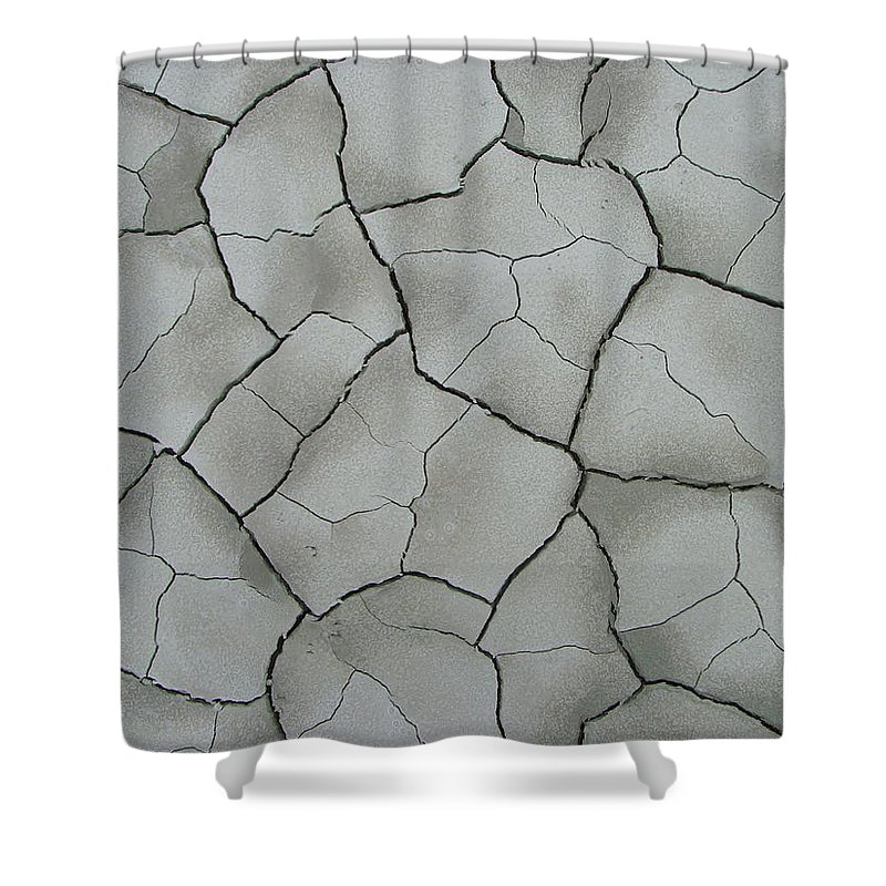 Abstract Shower Curtain featuring the photograph A Cracking Shot by Bob Kemp