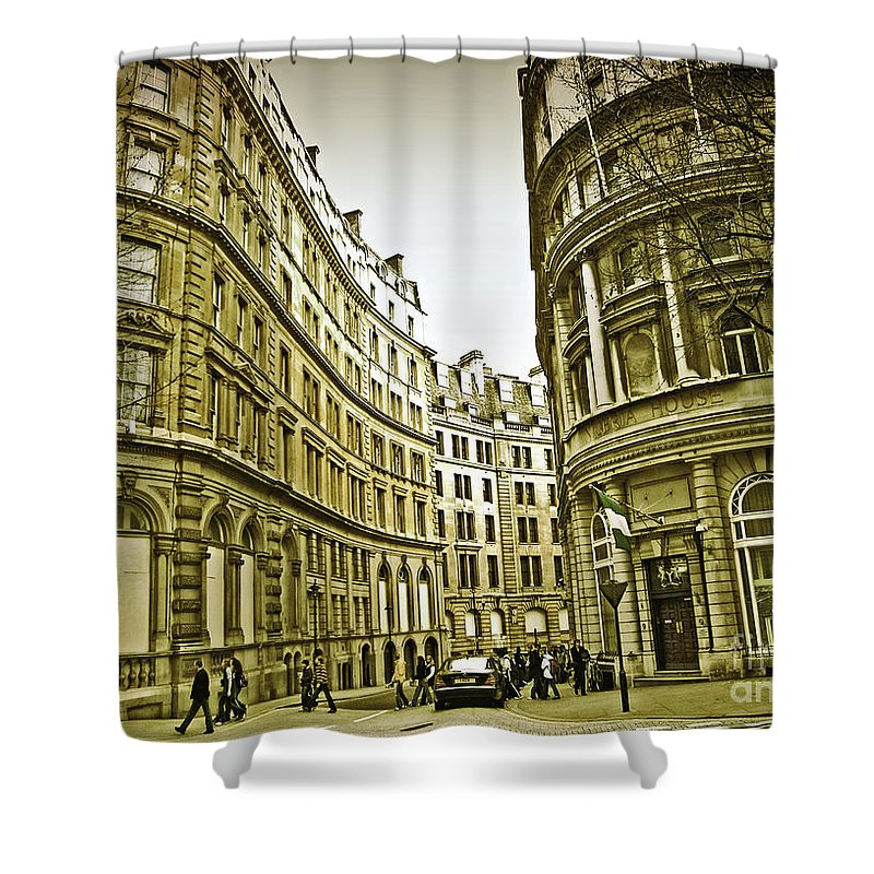 London Shower Curtain featuring the photograph A Day In London by Madeline Ellis