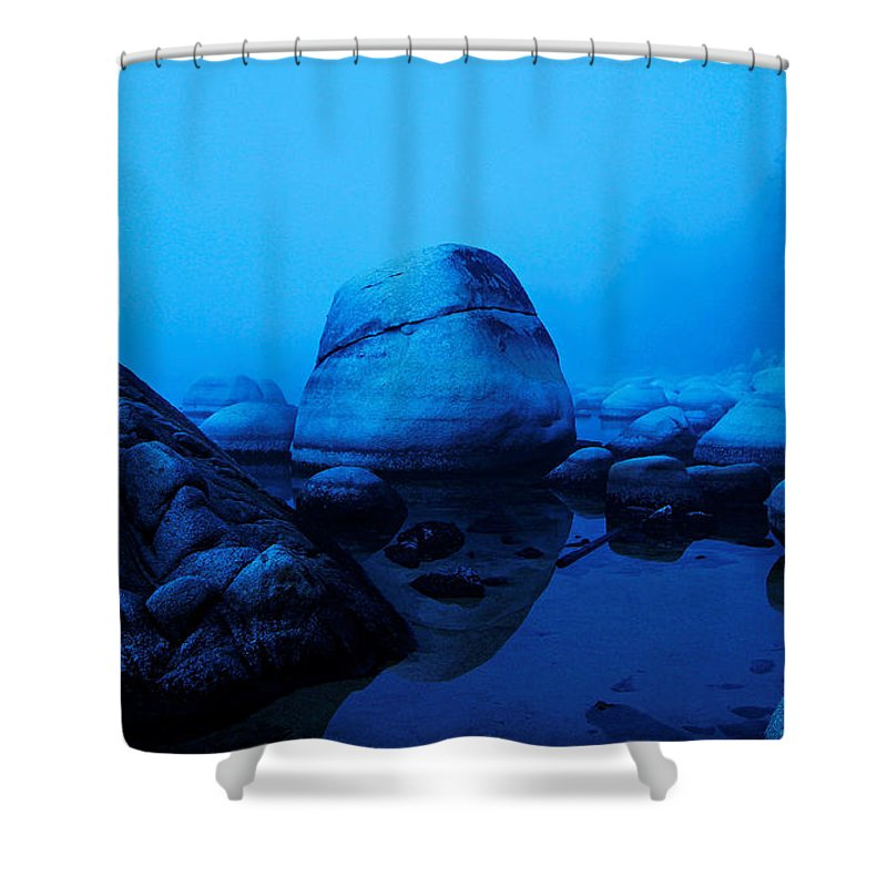 Lake Tahoe Shower Curtain featuring the photograph A Face Only A Mother Could Love by Sean Sarsfield
