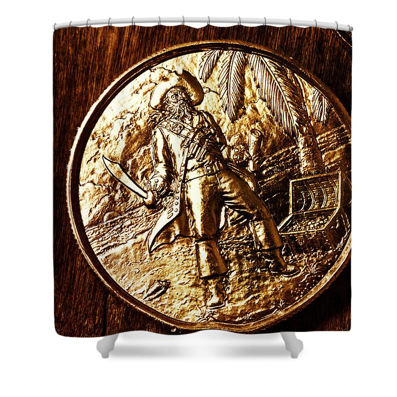 Currency Shower Curtain featuring the photograph A Pirates Treasure by Jorgo Photography - Wall Art Gallery
