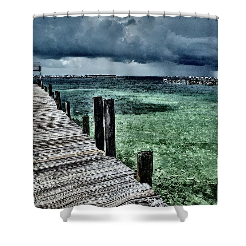 Caribbean Shower Curtain featuring the photograph Abaco Islands, Bahamas by Cindy Ross