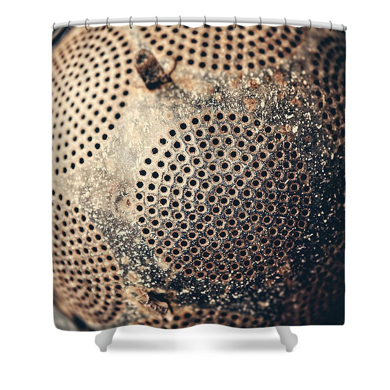 Rustic Kitchen Shower Curtain featuring the photograph Abandoned by Lisa Russo