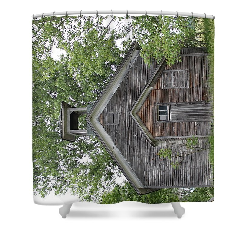Shower Curtain featuring the photograph Abandonment by Stacia Erickson