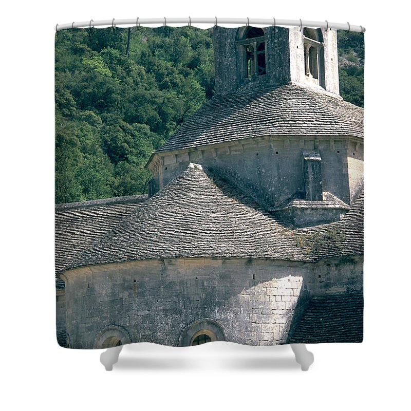 Abbeye De Senanque Shower Curtain featuring the photograph Abbeye De Senanque by Flavia Westerwelle