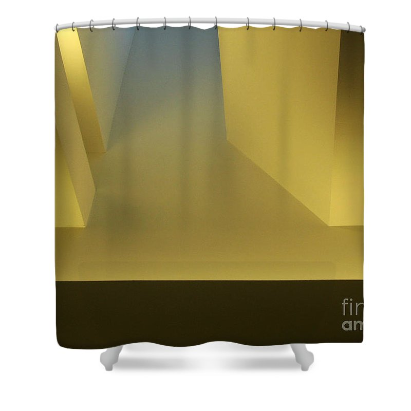 Yellow Shower Curtain featuring the photograph Above Series 4.0 by Dana DiPasquale