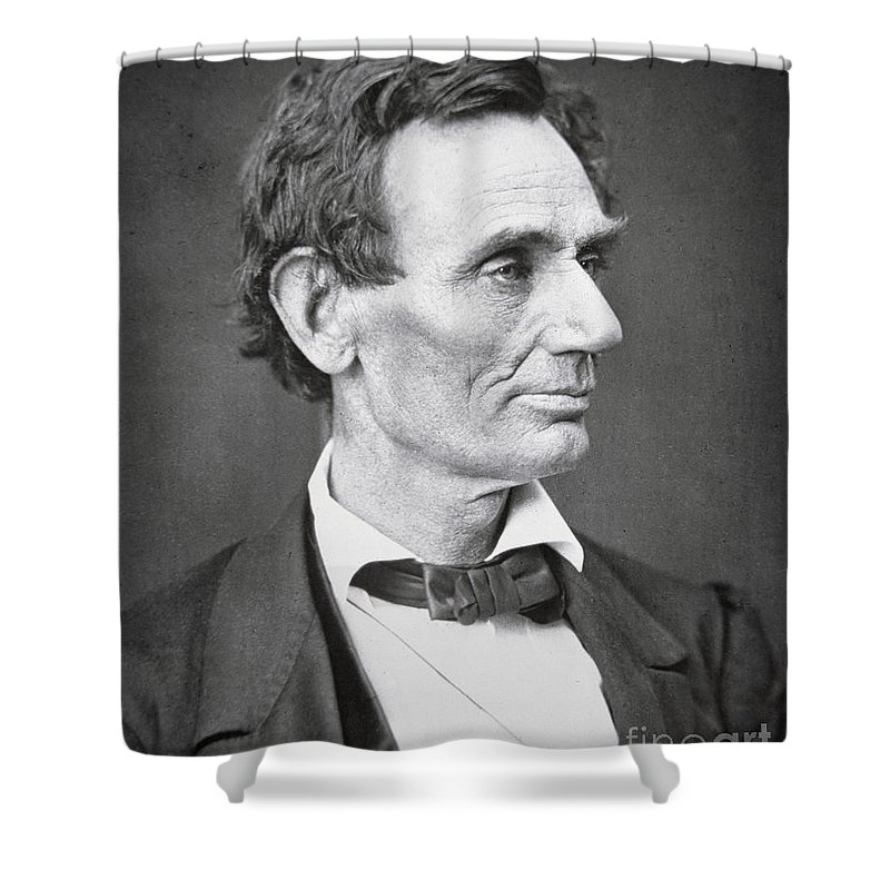 Abraham Lincoln Shower Curtains