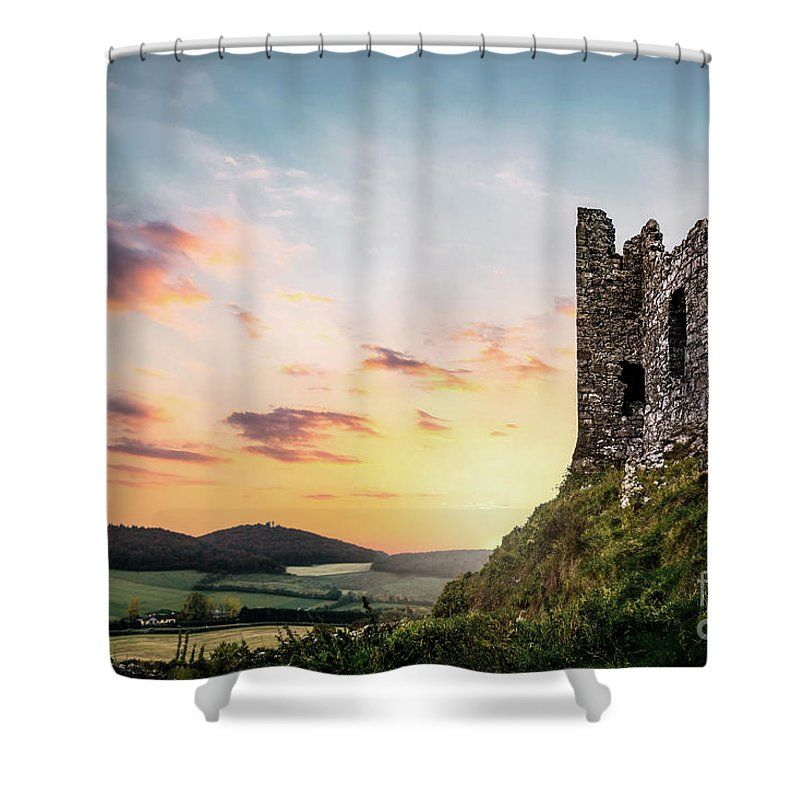 Kremsdorf Shower Curtain featuring the photograph Absorbed By The Time by Evelina Kremsdorf