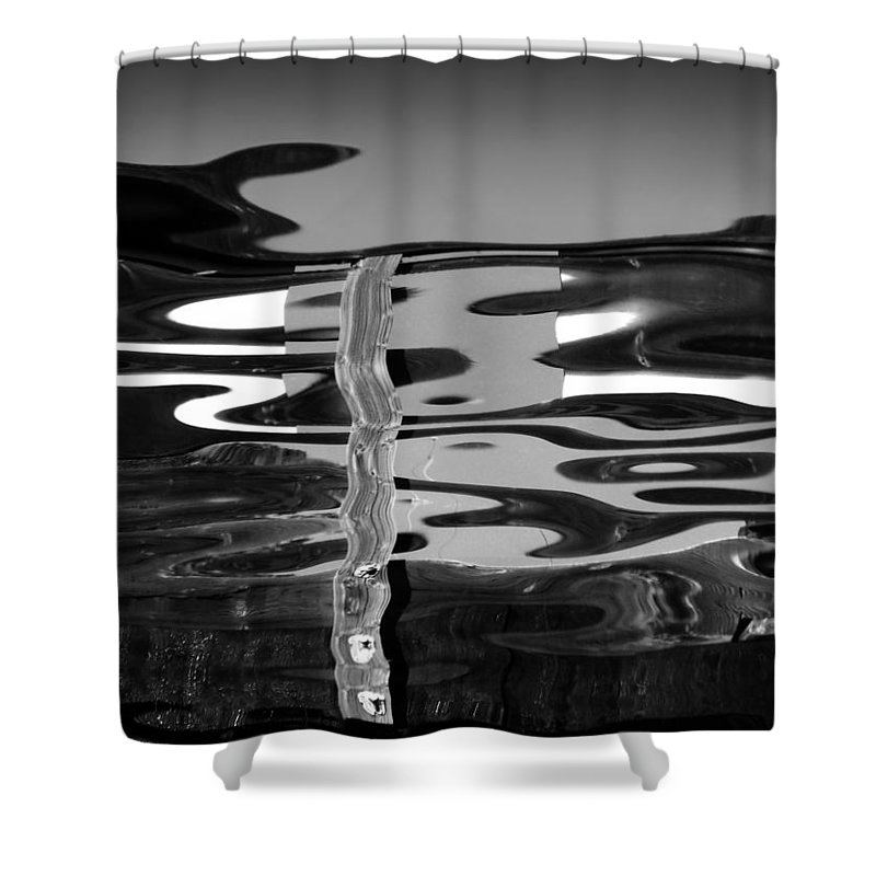 An Abstract Shower Curtain featuring the photograph Abstract 6b by Xueling Zou