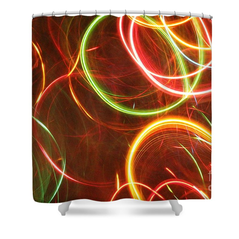 Abstract Shower Curtain featuring the photograph Abstract by Daren Jud