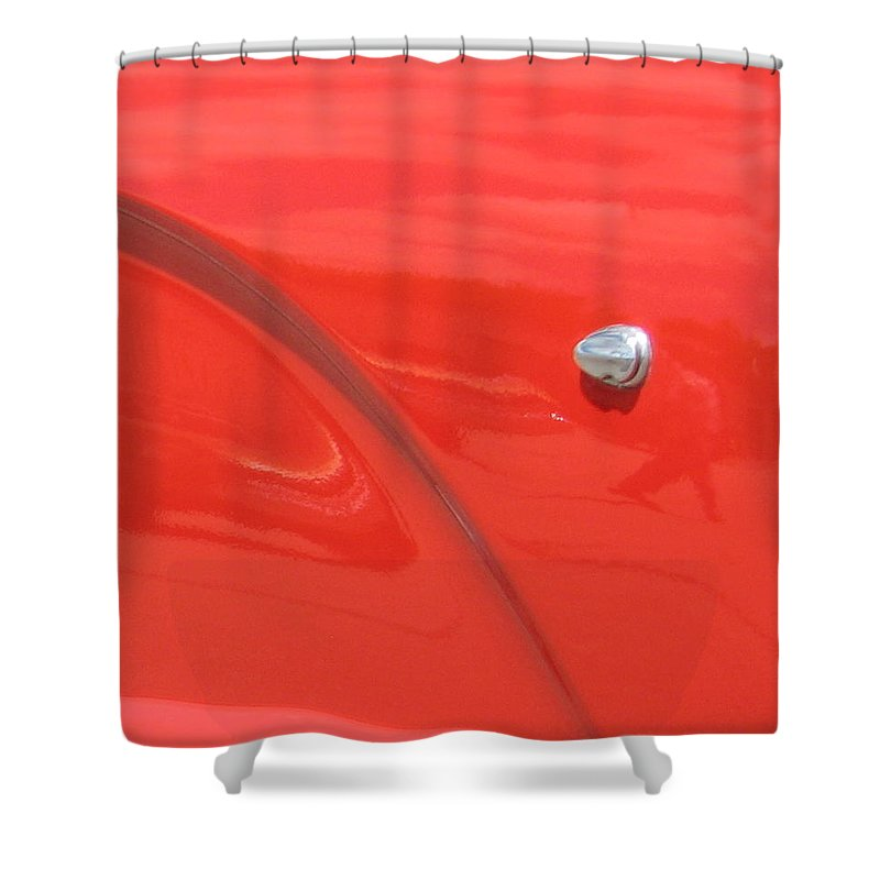 Thunderbird Shower Curtain featuring the photograph Abstract Thunder by Kelly Mezzapelle