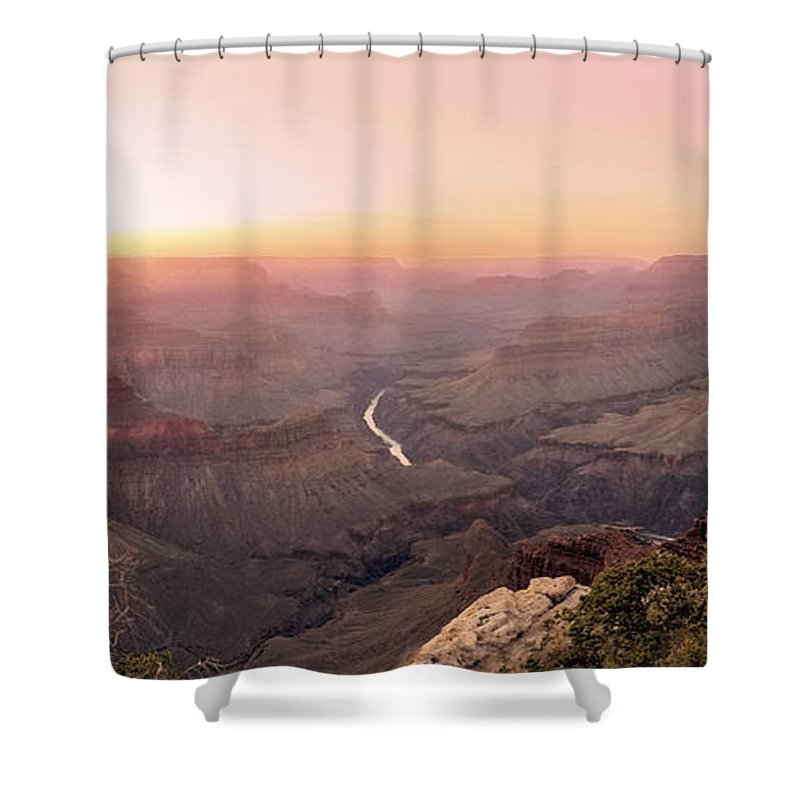 Alone Shower Curtain featuring the digital art Aeons- Ether- Catharsis- by Will Jacoby Artwork