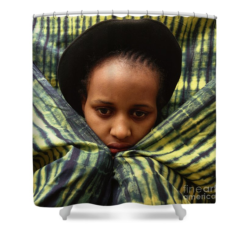 People Shower Curtain featuring the photograph Africa Diasporan by Morris Keyonzo